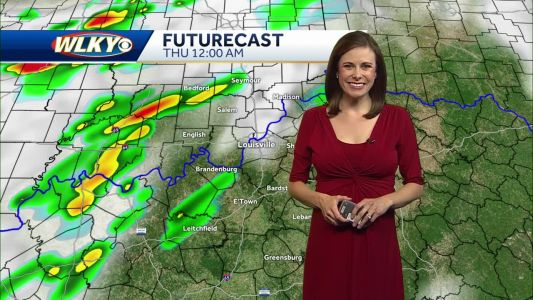 Periods of Rain/Storms on Thursday