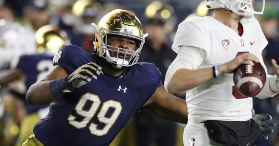 Chargers select DT Jerry Tillery in first round