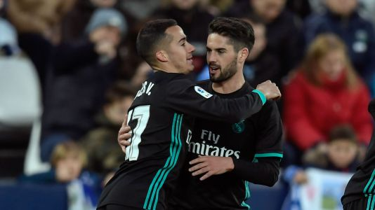 Madrid move up to third with win at Leganes