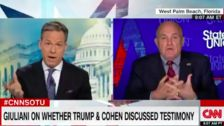 Rudy Giuliani: 'So What' If Trump Spoke With Cohen Ahead Of Congressional Testimony?