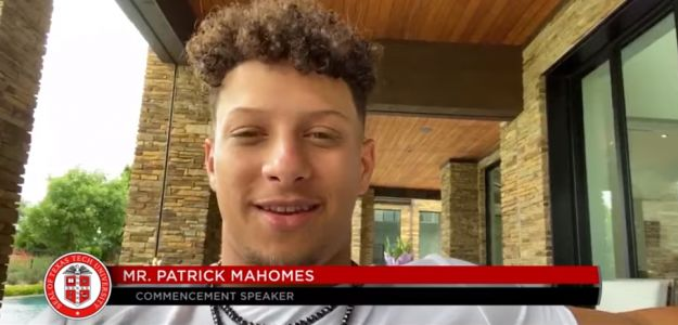 Mahomes to Texas Tech grads: 'Win your own Super Bowl'