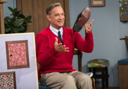 "Happy Birthday, Fred Rogers: ""A Beautiful Day in the Neighborhood"" releases third Tom Hanks production photo"