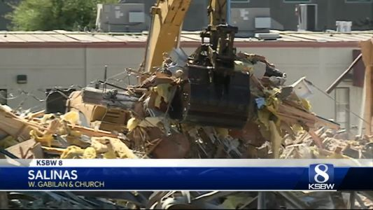 Monterey County District Attorney's offices torn down