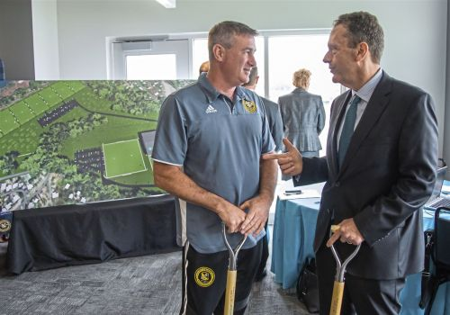 Riverhounds partner with AHN, Highmark Health for new complex in Coraopolis