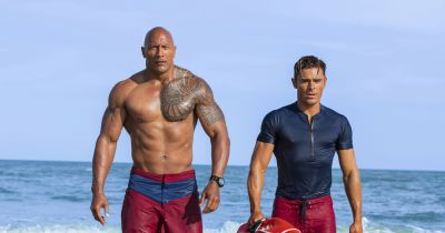 'Baywatch's' Dwayne Johnson just wants to entertain you