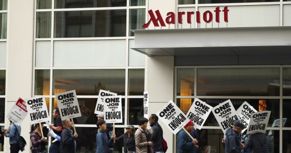 New technology, housekeeping among concerns in hotel strikes