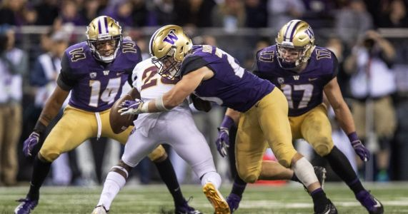 Where UW's Ben Burr-Kirven is, tackles usually follow
