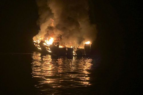 3 crew had no fire drill training, 1 saw electrical 'sparks' before dive boat burst into flames, killing 34