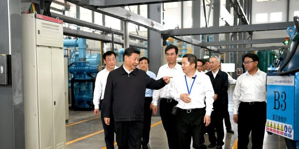 Xi Jinping may have showed how he plans to cripple US tech and defense giants in the trade war with a visit to a Chinese magnet factory