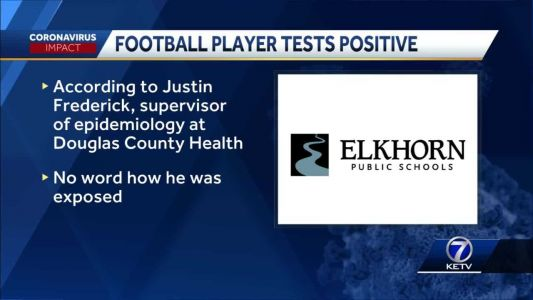 Elkhorn South football player tests positive for COVID-19