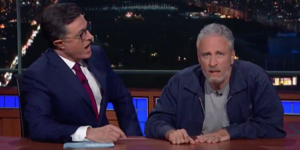 'You're not good at this argument thing': Jon Stewart fires back at Mitch McConnell for downplaying his impassioned efforts to help 9/11 victims