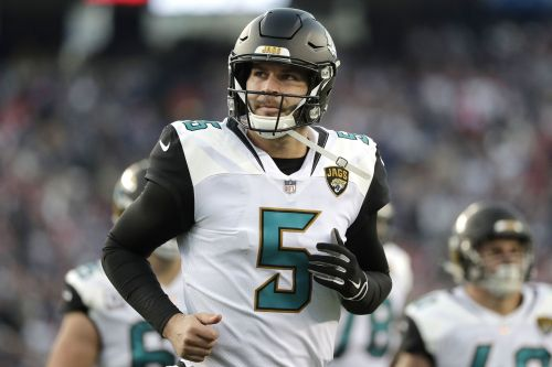 Bortles' extension takes Jaguars out of Cousins sweepstakes