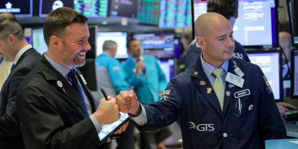 Stocks are jumping after two Fed officials signal rate cuts are coming - 'it pays to act quickly'
