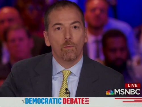 Awkward mic issues temporarily brought the first Democratic primary debate to a halt