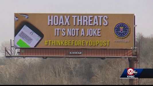 FBI issues warning about fake online threats with new billboards