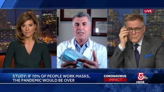 Infectious disease expert says wearing a mask in public is not enough to stop COVID-19