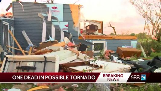 OFFICIALS: 1 dead in possible tornado in Adair