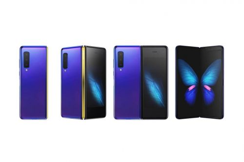 Here's Samsung's New Galaxy Fold Smartphone With 'Infinity Flex Display'