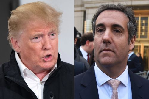 Trump: Cohen was 'lying' about hush money payments