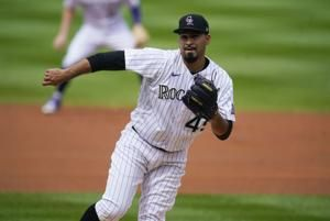 Senzatela helps Rockies avoid sweep, beat Dodgers 6-3