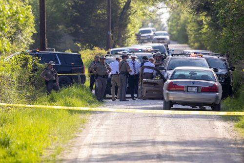 Larry Bollin, 27, Identified as Bryan, Texas Shooter at Kent Moore Cabinets