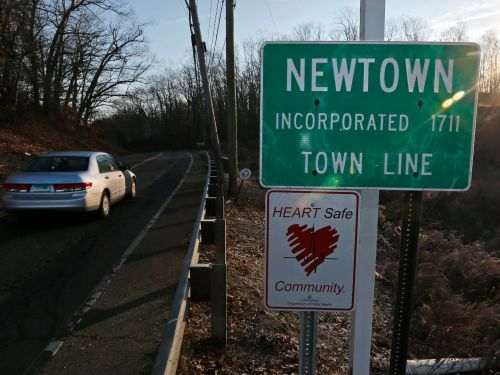 Sandy Hook Elementary School has been evacuated following a threat on the anniversary of one of the worst mass shootings in US history