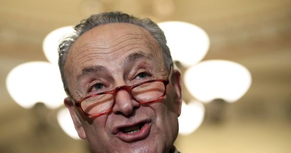 Schumer says it's up to Trump to avert government shutdown