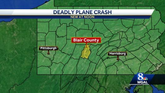 Plane that left Lancaster crashes in Blair County; At least 1 killed