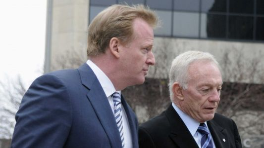 Jerry Jones threatened Roger Goodell using foul language after Ezekiel Elliott suspension, report says