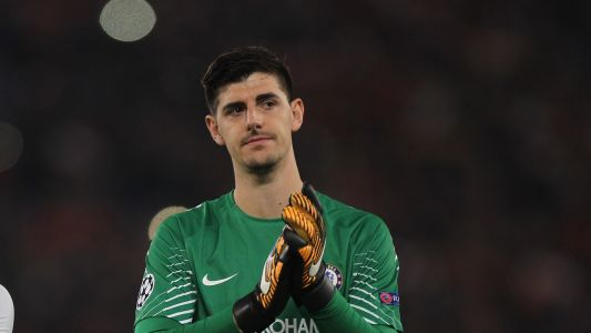 Conte: Courtois contract renewal out of my hands