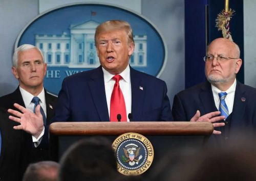 President Trump previews new social distancing guidelines based on geographic risks