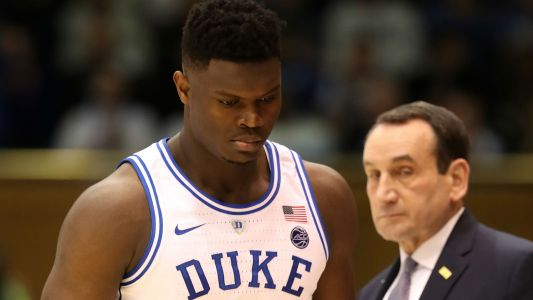 Duke players, coach Mike Krzyzewski react to Zion Williamson's knee injury