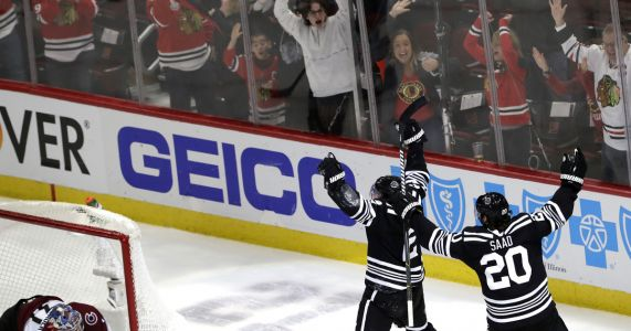 Keith scores in OT to lift Blackhawks over Avalanche 2-1