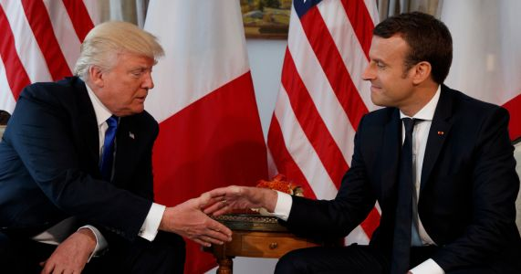 Macron to give Trump seedling from World War I battle site