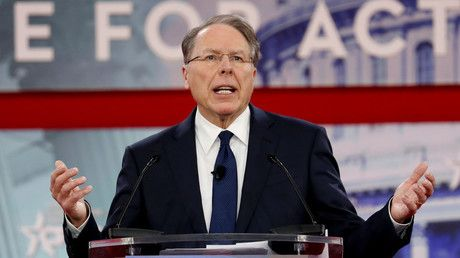 NRA leader LaPierre draws fire from liberals over call for armed guards in schools