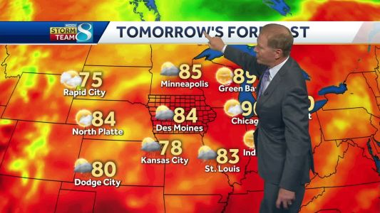 Scattered storms could hinder Tuesday plans