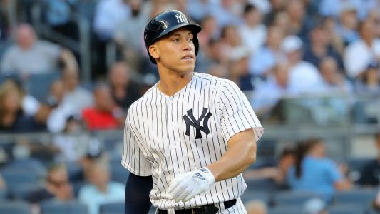 Yankees' Aaron Judge says he could start swinging bat next week