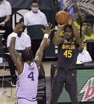 Mitchell 33 for No. 2 Baylor in 107-59 rout over K-State