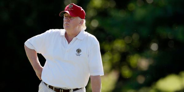 Donald Trump's golf outings have reportedly cost taxpayers more than $100 million