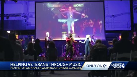 Warriors Rock: Wiz Khalifa's mother involved with concert to help Western PA veterans