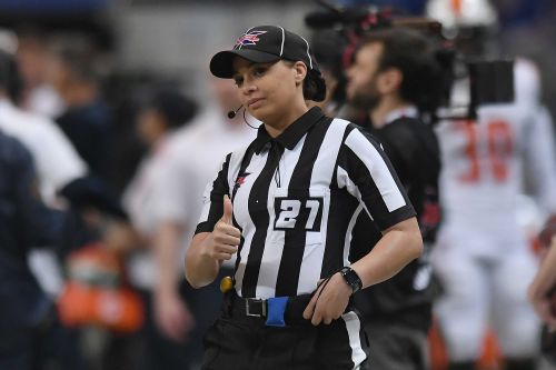 'Bigger than a personal accomplishment': NFL hires first Black female game official