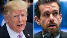 Twitter Users Very Skeptical About Trump's Closed Door Meeting With Jack Dorsey