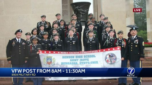 JROTC cadets raise money to attend 75th anniversary for D-Day in Normandy, France