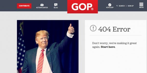 Trump announced his 'fake news awards' and the site he linked to went down almost immediately
