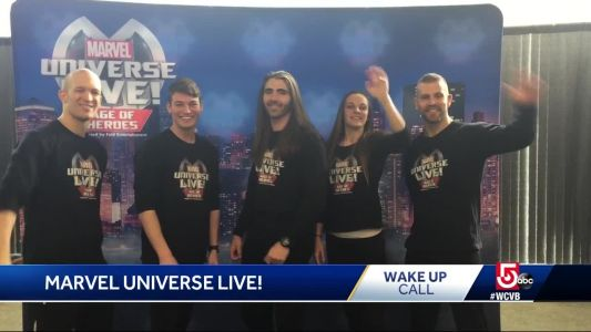 Wake Up Call from Marvel Universe Live