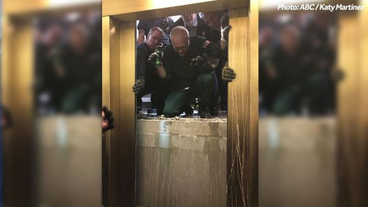 Chicago elevator plunges 84 floors after cables snap