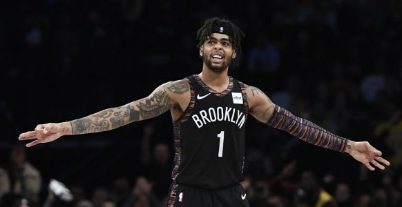 NBA wrap: Nets top Lakers in Brooklyn, extend winning streak to 6 games