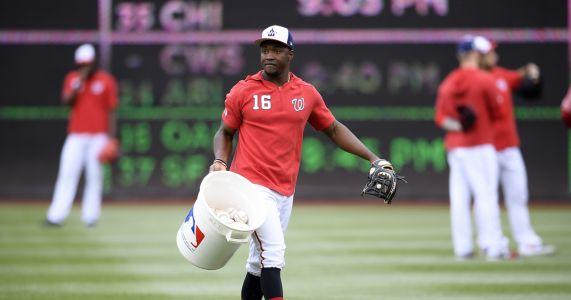 Nationals OF Victor Robles, 21, gets his turn to turn heads