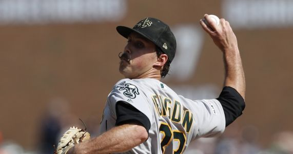 A's make it 15 straight over Tigers with 4-1 victory