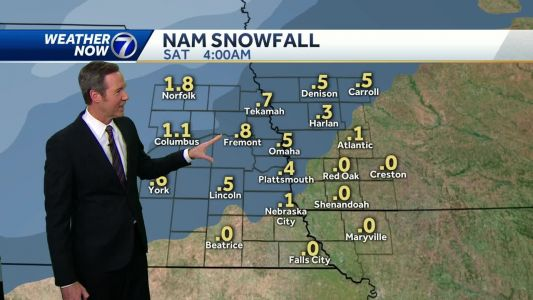 Watching weekend snow chances